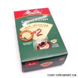 Melitta Coffee Filters - #2 Natural Brown