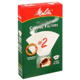 Melitta U S A Inc 622704 No. 2 Cone White Paper Filter