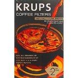 Krups 981-10 Filter Paper #2 Unbleached