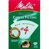 Melitta No. 4 Cone White Paper Filter