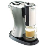 Fusion Deluxe Drink Station, 6-Cup Stainless Steel Coffee Maker