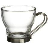 Bormioli Rocco Verdi Espresso Cup With Stainless Steel Handle