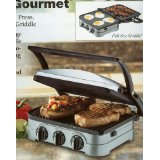 Cuisinart Multifunctional Griddler Gourmet Maker GRID-8PC