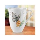 Lenox Butterfly Meadow Blue Butterfly Mug 12 Oz.
