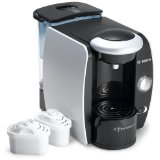 Bosch TAS4511UC Tassimo Single-Serve Coffee Brewer, Silk Silver