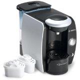 Bosch TAS4511UC Tassimo Single-Serve Coffee Brewer, Silk Silver