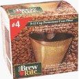 Brew Rite #4 Cone Gold Screen Filter
