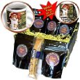 Cats - Orange Cat - Coffee Gift Baskets - Coffee Gift Basket