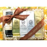 Our Famous Kona Coffee & Hawaiian Coffee Sampler Gift Baskets for Thanksgiving, Christmas & Hanukkah