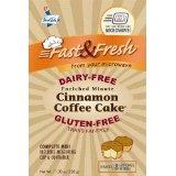 Dairy-Free Minute Cinnamon Coffee Cake