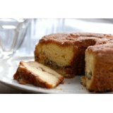 Lower Fat Cinnamon Walnut Coffee Cake