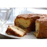 Lower Fat Cinnamon Walnut Coffee Cake