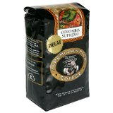 Jeremiah's Pick Coffee Co, Whole Bean Coffee, Decaf Colombia Supremo