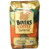 Boyer's Coffee Colombian Cafe, 40-Ounce Bags, whole bean