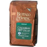Buffalo & Spring Colombian Swiss Water Processed Decaf, Whole Bean Coffee, 2-Pound Bag