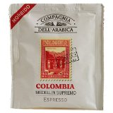 Compagnia dell'Arabica Colombia Medellin Supremo Espresso Pods
