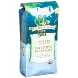 Explorer's Bounty Expedition El Dorado Organic Coffee, Whole Bean, Colombian Single Origin, Medium Roast