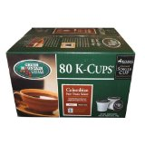 Keurig Green Mountain Coffee Roasters 80 K - Cup Colombian Fair Trade Select Medium Roast Coffee