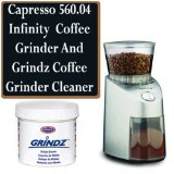 Capresso 560.04 Infinity Commercial Grade Conical Burr Coffee Grinder