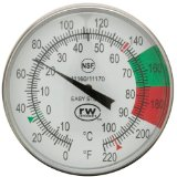 Rattleware 5-Inch Easy Steam Thermometer