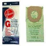 Type G Hoover Vacuum Cleaner Replacement Bag