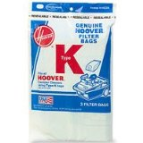 Hoover Type K, Vacuum Cleaner Bags