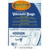 Hoover 401010W2 Vacuum Cleaner Allergen Filter Bags