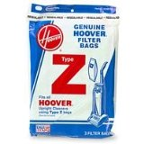 Type Z Power Drive/Dimension Upright Vacuum Cleaner Replacement Bags