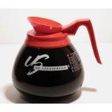 Coffee Decanter, Decaf, US Foodservice Logo, carton of 3