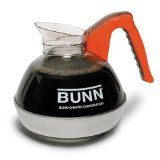 Bunn 6101 Easy Pour Decaf Replacement Decanter, Orange