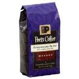 Peets Coffee, Coffee Ground Anniversary Blend