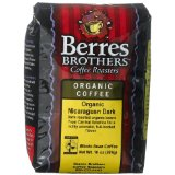 Berres Brothers Coffee Roasters Organic Nicaraguan, Whole Bean