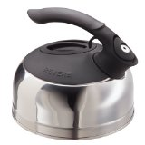 Revere 8-Cup Stainless Steel Bottom Easy Fill Tea Kettle