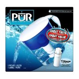 Pur 8-Cup Oval-Shaped Pitcher with 1-Stage Filter