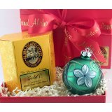 Kona Coffee Blend and Bright Christmas Ornament in Red Gift Box