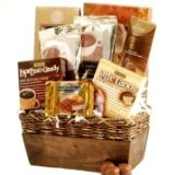 Caramel, Chocolate & Coffee Gourmet Gift Basket