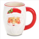 Smiling Santa Christmas Holiday Coffee Mug
