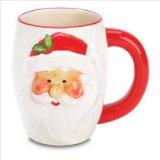Smiling Santa Christmas Holiday Coffee Mug