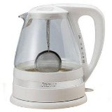 Aroma AWK-161 Clar-i-Tea 1-3/5-Liter Electric Water Kettle and Tea Brewer