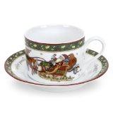 Portmeirion A Christmas Story Teacups and Saucers