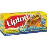 Lipton, Black Tea, Cold Brew, Pitcher Size, Tea Bags