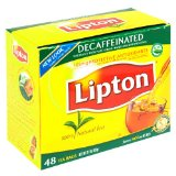 Lipton Black Tea, Decaffeinated, Tea Bags