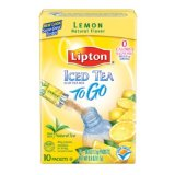 Lipton Iced Tea To Go, Lemon