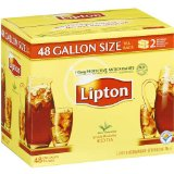 Lipton Iced Tea Brew Gallon Size Tea Bags