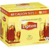 Lipton Iced Tea Brew Gallon Size Tea Bags