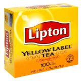 Lipton Yellow Label Orange Pekoe Teabags
