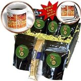 Londons Times Funny Religion Cartoons - Starbucks in Hell - Coffee Gift Baskets