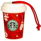 Starbucks Christmas Ornament Red Holiday To Go Cup