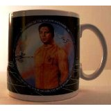 Star Trek Presents Captain Kirk Coffee Mug