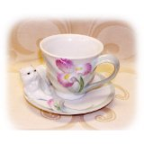 PERSIAN CAT Cup & Saucer Set